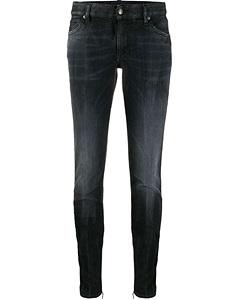 Jeans Dsquared2Medium Waist Cropped Twiggy Jean