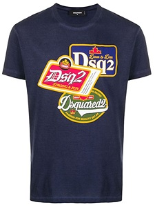 cheap for discount 218a1 86561 T-Shirt Dsquared2 Uomo - Asselta Boutique Barletta. Luxury Store