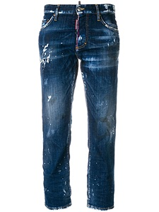 "Jeans Dsquared2 ""distressed hockney"""