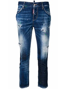 """Jeans Dsquared2 """"cool girl cropped jean"""""""