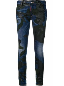 "Jeans Dsquared2 ""RUNAWAY STRAIGHT CROPPED JEAN"""