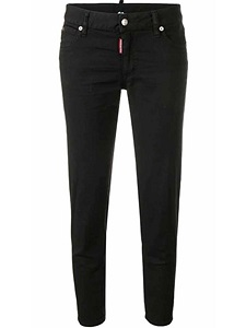 "Jeans Dsquared2 ""CROPPED TWIGGY JEAN"""