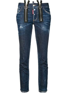 Jeans Dsquared2 Runway Straight Cropped Jean